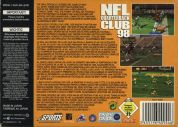 Scan of back side of box of NFL Quarterback Club '98