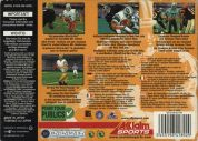Scan of back side of box of NFL Quarterback Club 2000