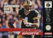 Scan of front side of box of NFL Quarterback Club 2000