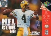 Scan of front side of box of NFL Quarterback Club '99