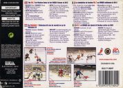 Scan of back side of box of NHL '99