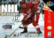 Scan of front side of box of NHL Breakaway '99