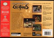 Scan of back side of box of Nightmare Creatures