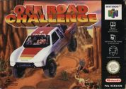 Scan of front side of box of Off Road Challenge