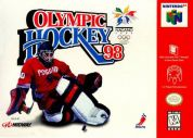 Scan of front side of box of Olympic Hockey Nagano '98
