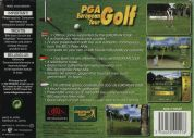 Scan of back side of box of PGA European Tour
