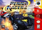Scan of front side of box of Penny Racers