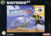 Scan of front side of box of Pilotwings 64