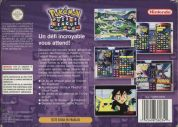 Scan of back side of box of Pokemon Puzzle League
