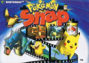 Scan of front side of box of Pokemon Snap