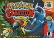 Scan of front side of box of Pokemon Stadium 2