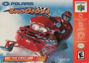 Scan of front side of box of Polaris SnoCross