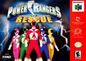 Scan of front side of box of Power Rangers Lightspeed Rescue