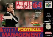 Scan of front side of box of Premier Manager 64