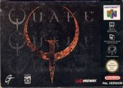 Scan of front side of box of Quake
