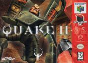 Scan of front side of box of Quake II