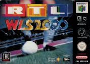 Scan of front side of box of RTL World League Soccer 2000