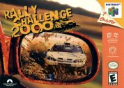 Scan of front side of box of Rally Challenge 2000