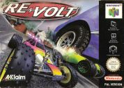Scan of front side of box of Re-Volt