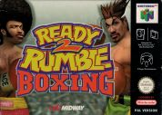 Scan of front side of box of Ready 2 Rumble Boxing