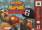 Scan of front side of box of Ready 2 Rumble Boxing: Round 2