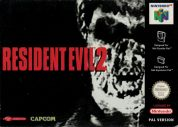 Scan of front side of box of Resident Evil 2 - alt. serial