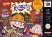 Scan of front side of box of Rugrats: Treasure Hunt
