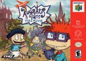 Scan of front side of box of Rugrats in Paris