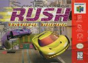 Scan of front side of box of San Francisco Rush: Extreme Racing