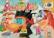 Scan of front side of box of Snowboard Kids