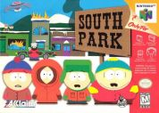 Scan of front side of box of South Park