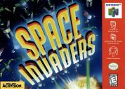 Scan of front side of box of Space Invaders