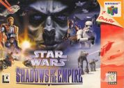 Scan of front side of box of Star Wars: Shadows Of The Empire