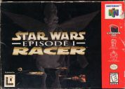 Scan of front side of box of Star Wars: Episode I: Racer