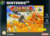 Scan of front side of box of Star Wars: Rogue Squadron