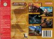 Scan of back side of box of Star Wars: Rogue Squadron