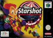 Scan of front side of box of Starshot : Panique au Space Circus