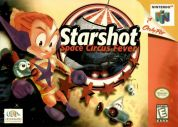 Scan of front side of box of Starshot: Space Circus Fever