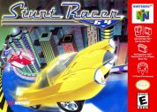 Scan of front side of box of Stunt Racer 64