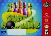 Scan of front side of box of Super Bowling