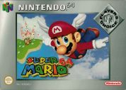 Scan of front side of box of Super Mario 64 - Players' Choice