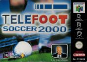 Scan of front side of box of Telefoot Soccer 2000