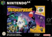 Scan of front side of box of Tetrisphere