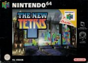 Scan of front side of box of The New Tetris