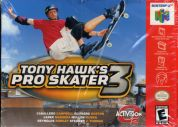 Scan of front side of box of Tony Hawk's Pro Skater 3