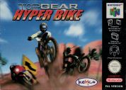 Scan of front side of box of Top Gear Hyper Bike