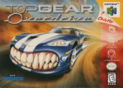 Scan de la face avant de la boite de Top Gear OverDrive