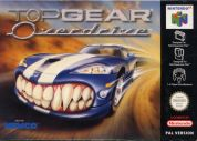 Scan of front side of box of Top Gear OverDrive