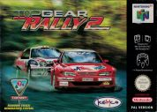 Scan of front side of box of Top Gear Rally 2