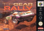 Scan of front side of box of Top Gear Rally